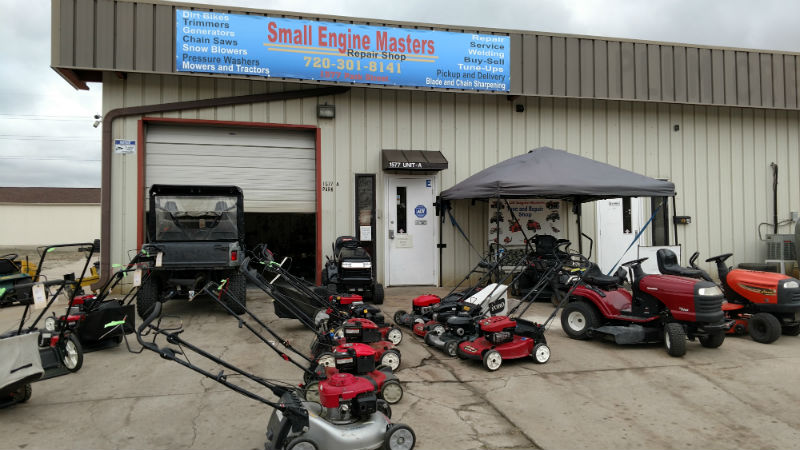 Small engine masters small engine repair service in castle for Small motor repair shop